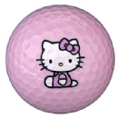 Hello Kitty The Collection Golf Ball - 6 Balls
